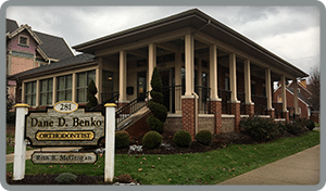 Kittannning Office Exterior at Benko Orthodontics in Sarver Kittanning Butler PA