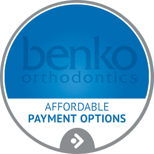 Affordable Payment Options horizontal hover button at Benko Orthodontics in Sarver Kittanning Butler PA