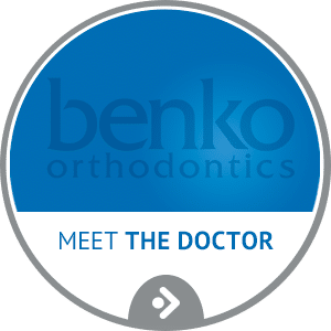 Meet the Doctor horizontal button Benko Orthodontics in Sarver Kittanning Butler PA