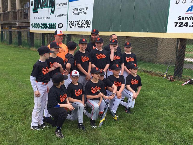 Little League Team Benko Orthodontics